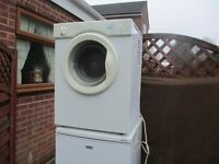 Tumble Dryer. Table top White Knight Tumble dryer, excellent condition
