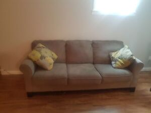 Couch and cushions for sale