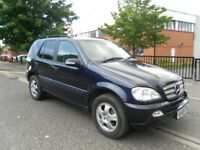 MERCEDES BENZ ML 270 CDI AUTOMATIC 7 SEATER LONG MOT DRIVES VERY GOOD
