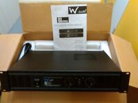 W Audio Da500 stereo amplifier