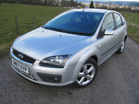 Ford Focus 1.6 TDCi 110 BHP 2007 CLIMATE ZETEC FSH VGC WAS £2375. NOW £1995 .