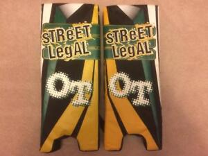 Like NEW Street Legal OT Ball or Street Hockey Goalie Pads - 21 Inches