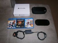 Sony PS Vita Console and Games