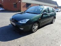 2005 FORD FOCUS PETROL,LONG MOT ,SERVICE HISTORY,DRIVE SPOT ON