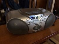 Panasonic RX-D25 Portable Stereo System with CD, Cassette Tape, FM tuner