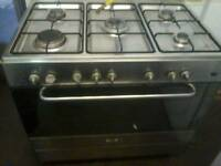 Range dual fuel cooker