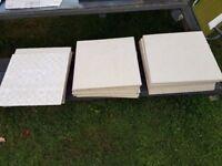 34 Italian Ceramic tiles 12 x 12 inches (3 square metres)