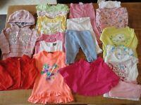 18 Mths – 2 Years Girls Summer Clothes Bundle (16 items) SET B