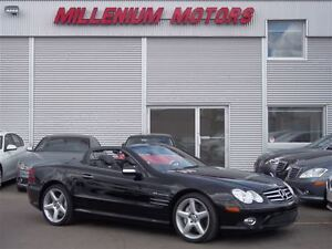 2007 Mercedes-Benz SL-Class SL55 AMG CONVERTIBLE/ 493 HP SUPERCH