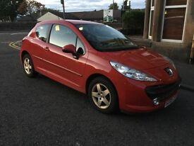 Peugeot 207 Sport, 2009, Petrol 1997cc Hatchback, New MOT, FSH, cheap to tax and insure