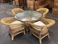 Wicker / Cane conservatory furniture set
