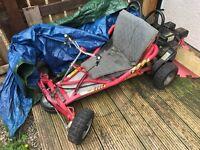 200cc kazuma drift kart, needs new brakes and pull start cord