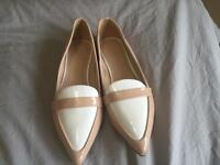 Brand new nude flats by ASOS - size 36