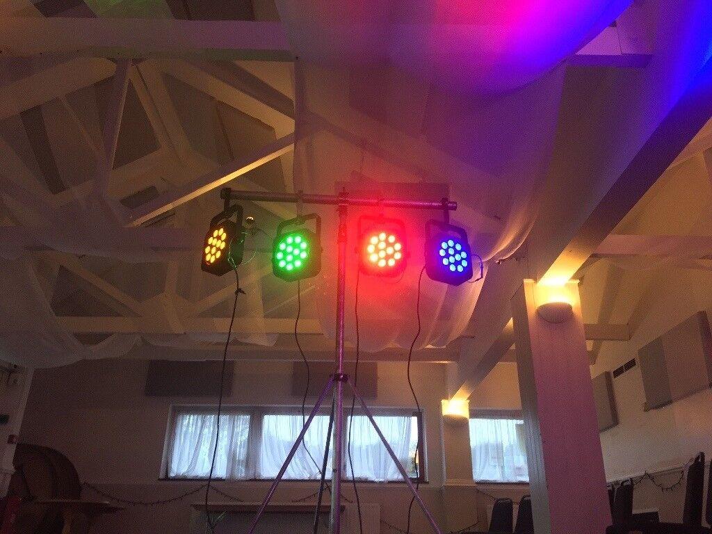 Visage LED Slim PAR 64 - Set of Four