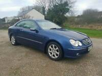 2004 clk240 2.6ltr v6 petrol automatic, full leather, high spec