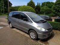 2002 TOYOTA PREVIA 2.4 AUTO - 7 SEATER -FAMILY OWNED FOR LAST 12 YEARS