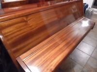 small upright piano by zender