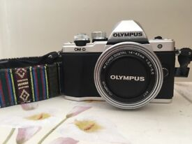 Olympus OM-D EM10 ii Camera with 14-42mm Lens inc. strap, battery charger and case