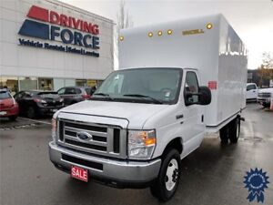 "2018 Ford E-450SD 176"" WB 16' Cube Van DRW, UniCell Body, 6.2L"