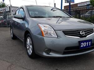 2011 Nissan Sentra 2.0 AUTO,LOADED,GA$$AVER,CERTIFIED $7475