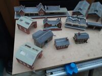 N gauge layout buildings