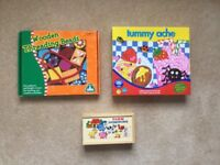Activities and games for younger children