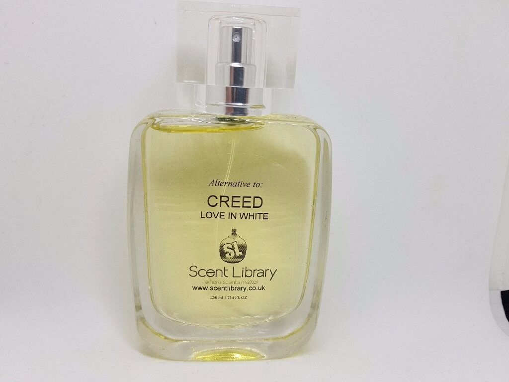 CREED LOVE IN WHITE ALTERNATIVE PERFUME SPRAYin St Ives, CambridgeshireGumtree - This gentle and clean fragrance contains light notes of hyacinth and magnolia and is reminiscent of a fresh spring breeze. Love in White constantly evolves after application producing an array of glorious aromas until a very feminine, sophisticated...