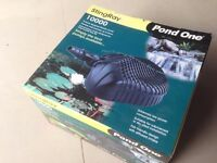 New Boxed Pond One StingRay 10000 Pond Pump (plus used spare)
