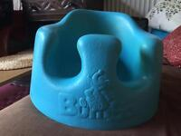 Bumbo Floor seat / feeding chair blue