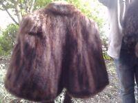 *CHARITY SALE* Vintage fur shawl / stole (5)