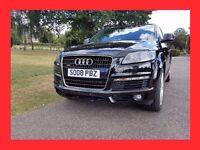 Q7 S Line --- 2008 Audi Q7 3.0 TDi S Line --- Diesel Auto --- half Leather --- 7 Seater --- Audi Q 7