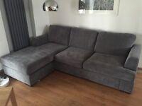Almost New DFS Corner Sofa