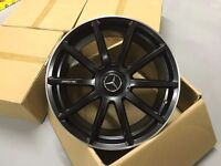 """20"""" staggered mercedes amg style alloys wheels s class sl cls cl ml alloy wheel"""