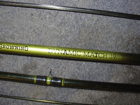 1X Browning 13ft carbon fibre match rod. 1X Icon 13ft carbon fibre match rod.