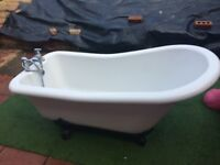 Used Roll top bath