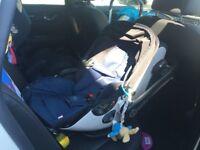 Kiddy evo luna Isize car seat with isofix