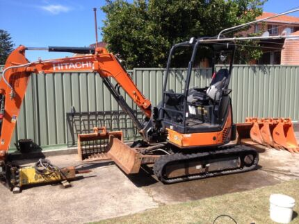 Excavator operator wanted  Randwick Eastern Suburbs Preview