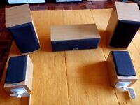 Tannoy surround sound speakers