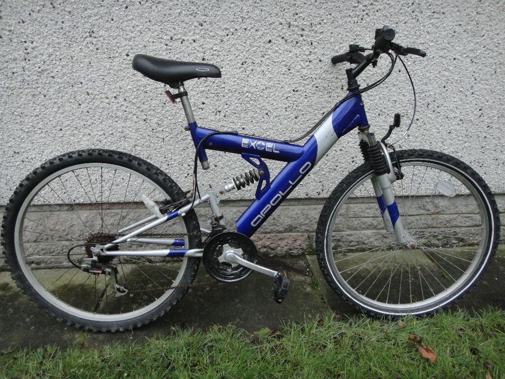 Apollo Excel Bike 26 Inch Wheels 18 Inch Frame 18 Gears