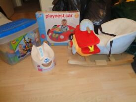 toy, play nest, rocker, potty for toddler