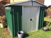 Metal YardMaster garden Shed for sale