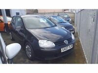 £3,495 Volkswagen Golf 1.4 S 3dr TOTALLY MINT