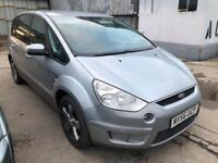 Ford S-Max 2.0 Titanium 5dr£3,445 p/x welcome FREE WARRANTY. NEW MOT