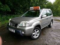 Nissan X-trail 2003, 2 owners, Diesel, 4x4,