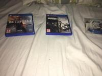 Ps4 games. £10 for all of them