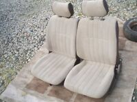 Front seats for VW T25