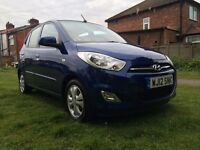 2012 HYUNDAI i10 1.2 ACTIVE-5DOORS,ONE OWNER,59000 GENUINE MILES,MOT MAY.2018,ALLOYS/CD/AUX/USB/IPOD