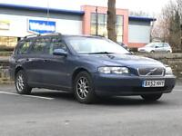 2002 (Sep 52) VOLVO V70 2.4 TORSLANDA - Estate 5 Door - Petrol - Manual - BLUE *MOT/PX WELCOME/CHEAP