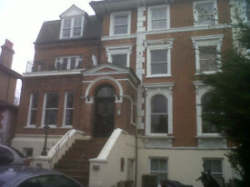 Two bedroom lower ground level flat for rent in Central Beckenken Kent.