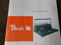 Peach Start Binder 21